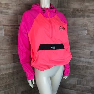 Victoria's Secret Pink Pullover Neon Size Large